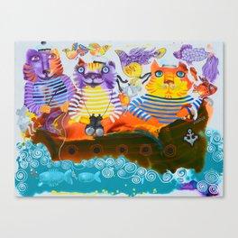 Paradise voyage Canvas Print