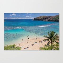 Hanauma Bay, Oahu, Hawaii Canvas Print