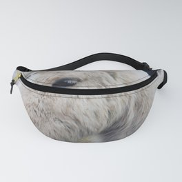 White Horse in Iceland Fanny Pack