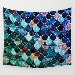 REALLY MERMAID TIFFANY Wall Tapestry
