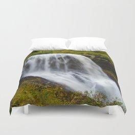 Silky waterfall Duvet Cover