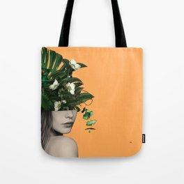 Lady Flowers Vlll Tote Bag