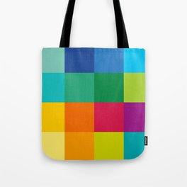 Artist Color Palette Tote Bag