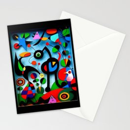 The Garden by Miro Stationery Cards
