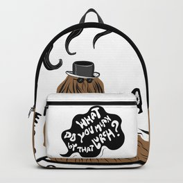 Cousin Itt (Addams Family) Backpack