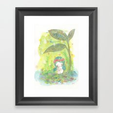 remember to breathe Framed Art Print