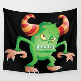 Halloween Monster 3 Wall Tapestry