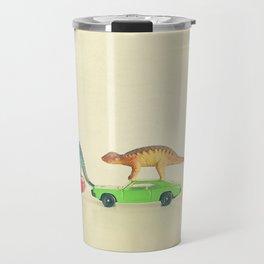 Dinosaurs Ride Cars Travel Mug