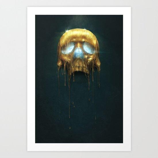 Gilded III Art Print