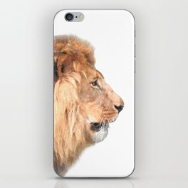 Lion Profile iPhone Skin