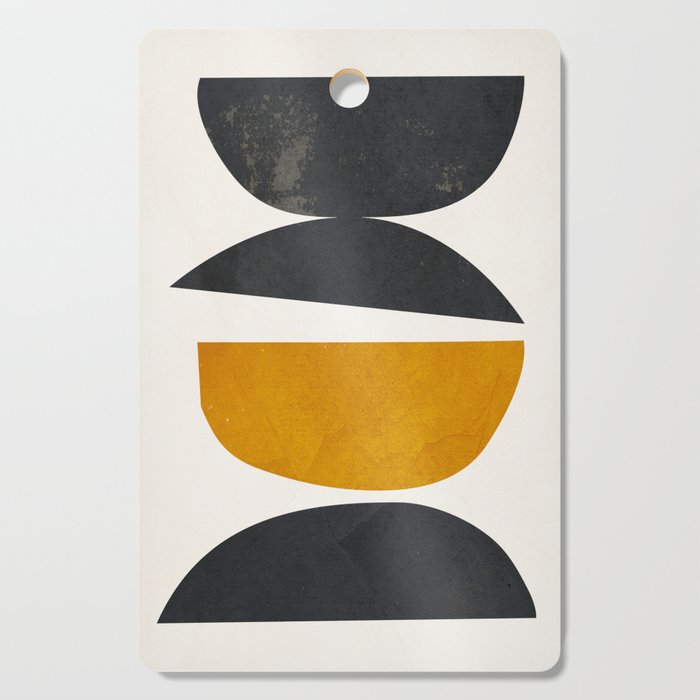 abstract minimal 23 Cutting Board