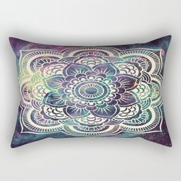 Galaxy Mandala : Deep Pastels Rectangular Pillow