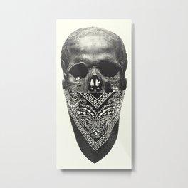 Original Gangsta Metal Print