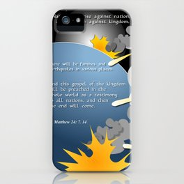 Nation Will Rise Against Nation iPhone Case