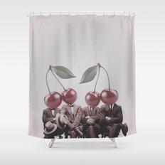 Cherry Mugshot Shower Curtain