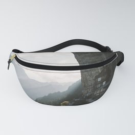 Mountain Cabin - Landscape Photography Fanny Pack