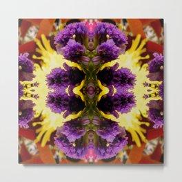 A Profusion Of Purple Pleasure Metal Print