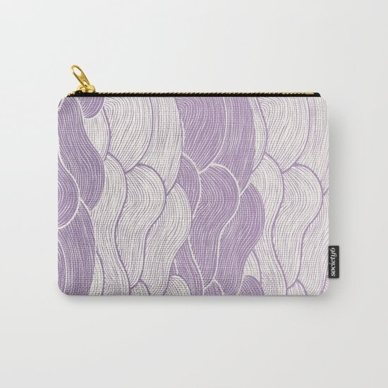 The Lavender Seas Carry-All Pouch