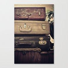 Luggage Canvas Print