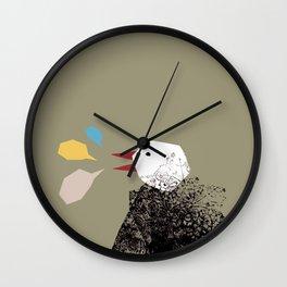 Mirlo Wall Clock