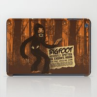 bigfoot iPad Cases featuring Bigfoot spotted on… by Carlos Rocafort