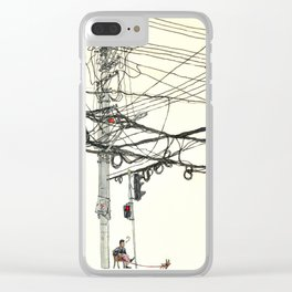 Shanghai spirit Clear iPhone Case