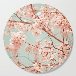 blossoms all over Cutting Board