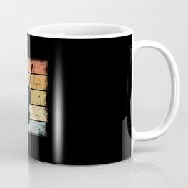 Double Bass Retro Coffee Mug