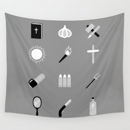 Monster Survival Guide Wall Tapestry