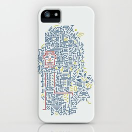 Someone inside iPhone Case