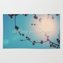 DRIFTING IN AND OUT Rug
