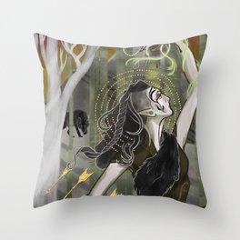 Inquisitor Lavellan Tarot Throw Pillow