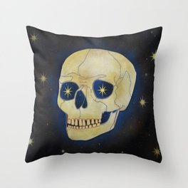 Blue Shift Throw Pillow