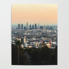Los Angeles Panorama Poster