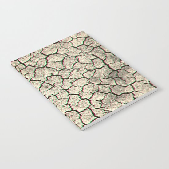 Trippy desert land Notebook