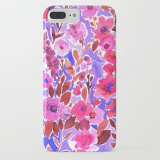 Isla Floral Purple Slim Case iPhone 7 Plus