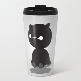 Black Baby Baymax Travel Mug