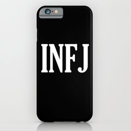 INFJ iPhone Case