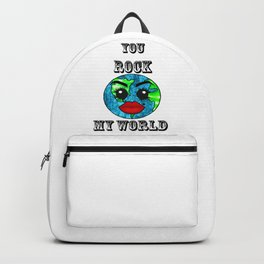 You rock my World Backpack
