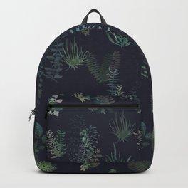 green garden at nigth mirror!!! Backpack