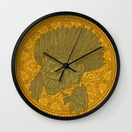 Wise Nature Wall Clock
