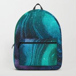 Space Marble Liquid v12 Backpack