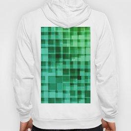 green squares pattern Hoody