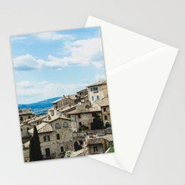 Stone houses Stationery Cards