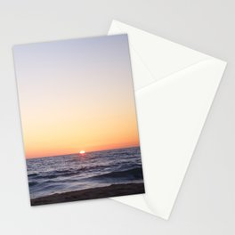 Hermosa Beach Sunset Stationery Cards