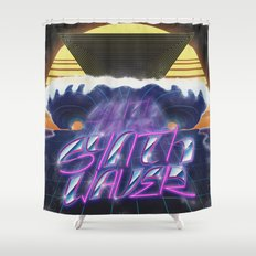 Synthwaver Shower Curtain