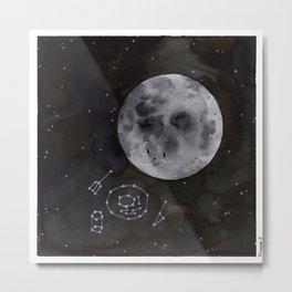 Eating Moon Metal Print