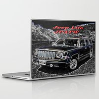 jeep Laptop & iPad Skins featuring JEEP JPATW by Dmarmol
