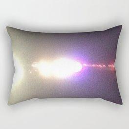 Abstracte Light Art in the Dark Version 35 Rectangular Pillow
