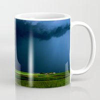 aelwen Mugs featuring Wild, wild weather by Donuts
